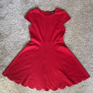 Lulus red dress